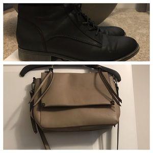 Aldo boot and bag combo
